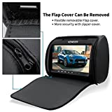 Car-headrest-DVD-player-9-KEWEIER-HD-TFT-Screen-Portable-car-dvd-player-with-FM-Game-Disc-Mp3-wireless-Game-pad-DVD-1-PCS