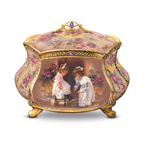 - The Bradford Exchange Sandra Kuck My Sister, My Friend Collectible Music Box by Ardleigh Elliott