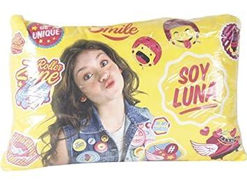 Cojín Rectangular Soy Luna: Amazon.es: Juguetes y juegos