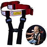 Child Safety Harness Airplane Travel Clip Strap.The Travel Harness Safety System Will Protect Your Child from Dangerous.Had Passed FAA Approved.