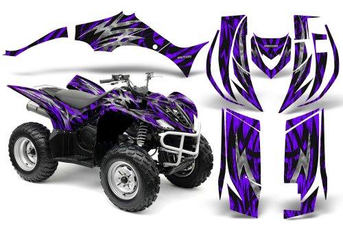 CreatorX Yamaha Wolverine Graphics Kit Decals Bolt Thrower Purple