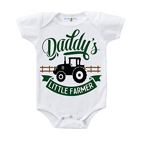 Homemade Baby Farmer Costumes - Snappy Suits Daddy's Little Farmer Baby