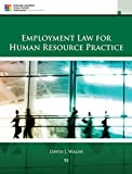 img - for By David J. Walsh - Employment Law for Human Resource Practice (5th Edition) (2015-01-16) [Hardcover] book / textbook / text book