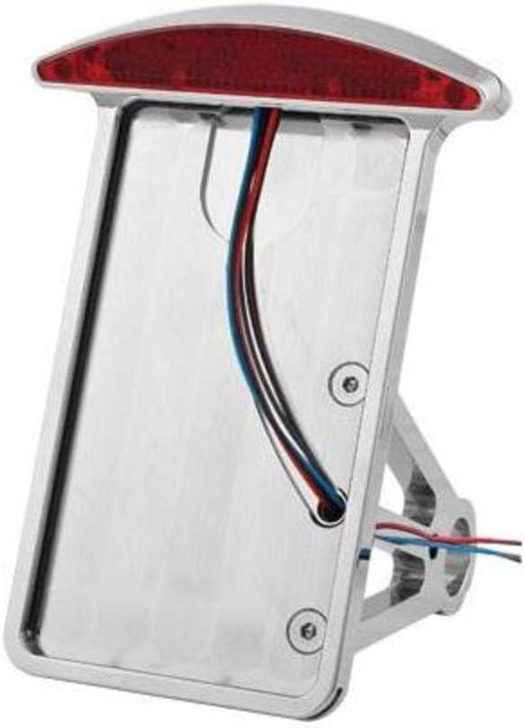 HardDrive P28-6145NU License Plate Frame Curved Vertical Cat eye Led