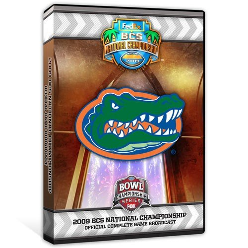 Florida Gators 2008 FedEx BCS National Championship DVD