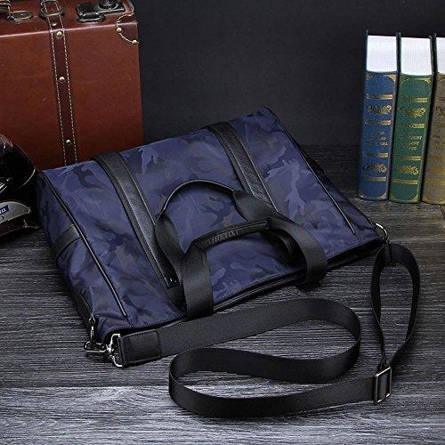 Bolsa cuero cruzada casual pack tela camuflaje hombro mans penao moda bolso solo diagonal ZRq41ndw