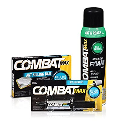 Combat Max Ant Control Products - Bait, Gel, and Foam Spray