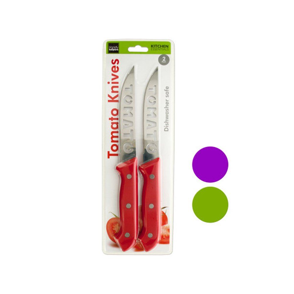 Handy Helpers Tomato Knives Set Pack Of 4, NEW by Handy Helpers