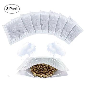 .com: 8 pack diaper pail deodorizer, natural diatomite carbon ...