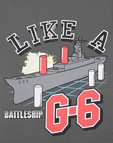 Mujeres - Goodie Two Sleeves - Battleship - Camiseta