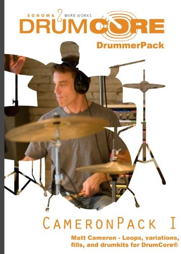 Sonoma Wire Works DCDPMC Cameron Pack I DrummerPack - Garageband Jam Pack