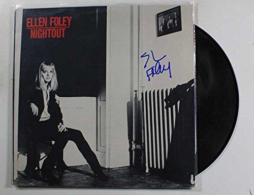 Ellen Foley Signed Autographed