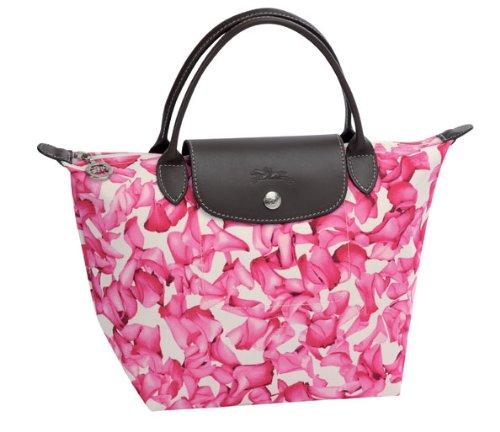 Longchamp Le Pliage Large 12 Medium Handbag Rose Pink: Handbags: Amazon.com