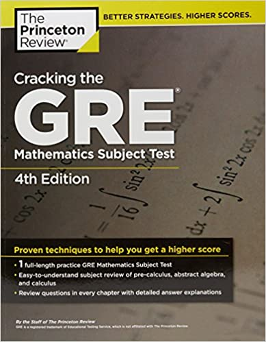Cracking the gre mathematics subject test 4th edition steven a cracking the gre mathematics subject test 4th edition steven a leduc 9780375429729 amazon books fandeluxe Image collections