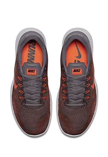 Nike Heren Flex 2018 Rn Hardloopschoen Gunsmoke Karmozijnrood Zwart Grijs