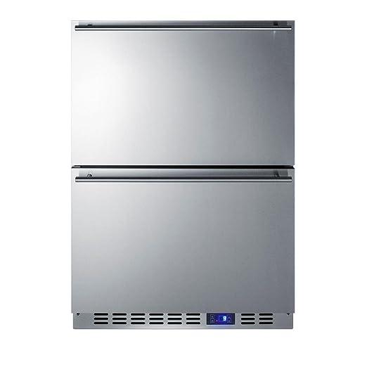 Amazon.com: Summit scff532d cajón Congelador, acero ...