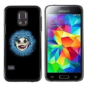 TopCaseStore / la caja del caucho duro de la cubierta de protección de la piel - Gorillas - Samsung Galaxy S5 Mini, SM-G800, NOT S5 REGULAR!