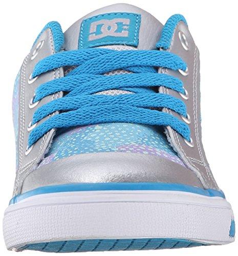 DC Frauen Chelsea TX SE Sneaker Hellgrau / Lila