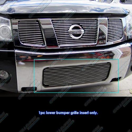 Fits 2004-2015 Nissan Titan/04-07 Armada Lower Bumper Billet Grille Insert #N19-A31458N
