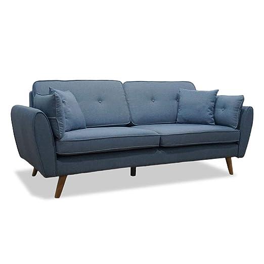Funnyrunstore Diseño ergonómico Sillón Sofá cama de tela de ...