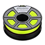 Excelvan New 3D Filament 3.0mm ABS for Print RepRap MarkerBot 1kg/2.2lbs (Black & Yellow) Excelvan Supplies