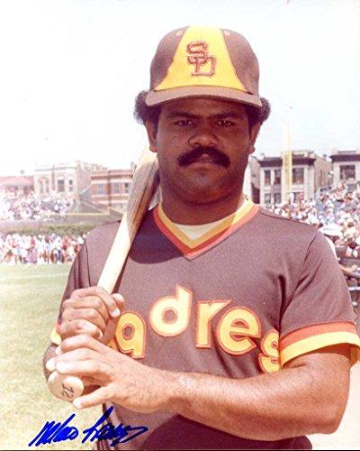 Mario Ramirez (D. 2013) Autographed/Original Signed 8x10 Color Photo Showing Him w/the San Diego Padres