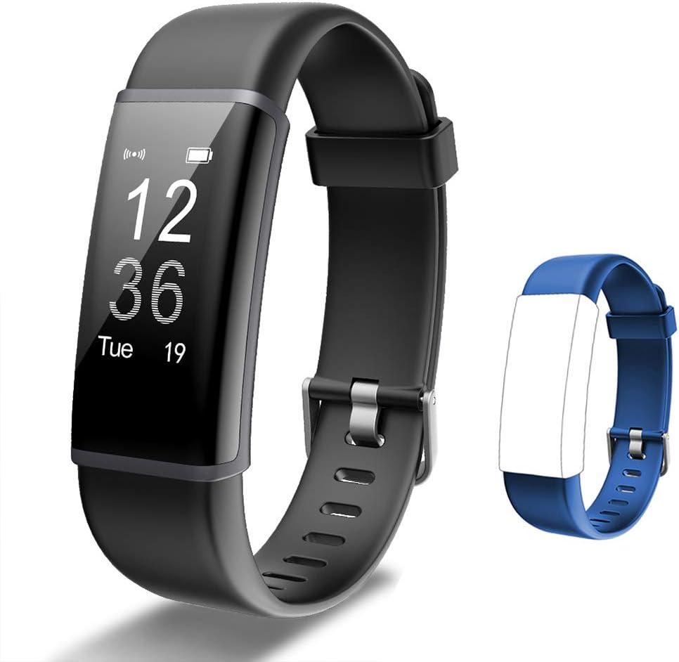 Lintelek Fitness Tracker Heart Rate Monitor