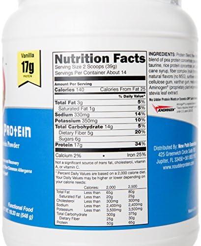 No Udder Protein Dairy Free Vegan Soy Free Protein Powder, Vanilla Delight