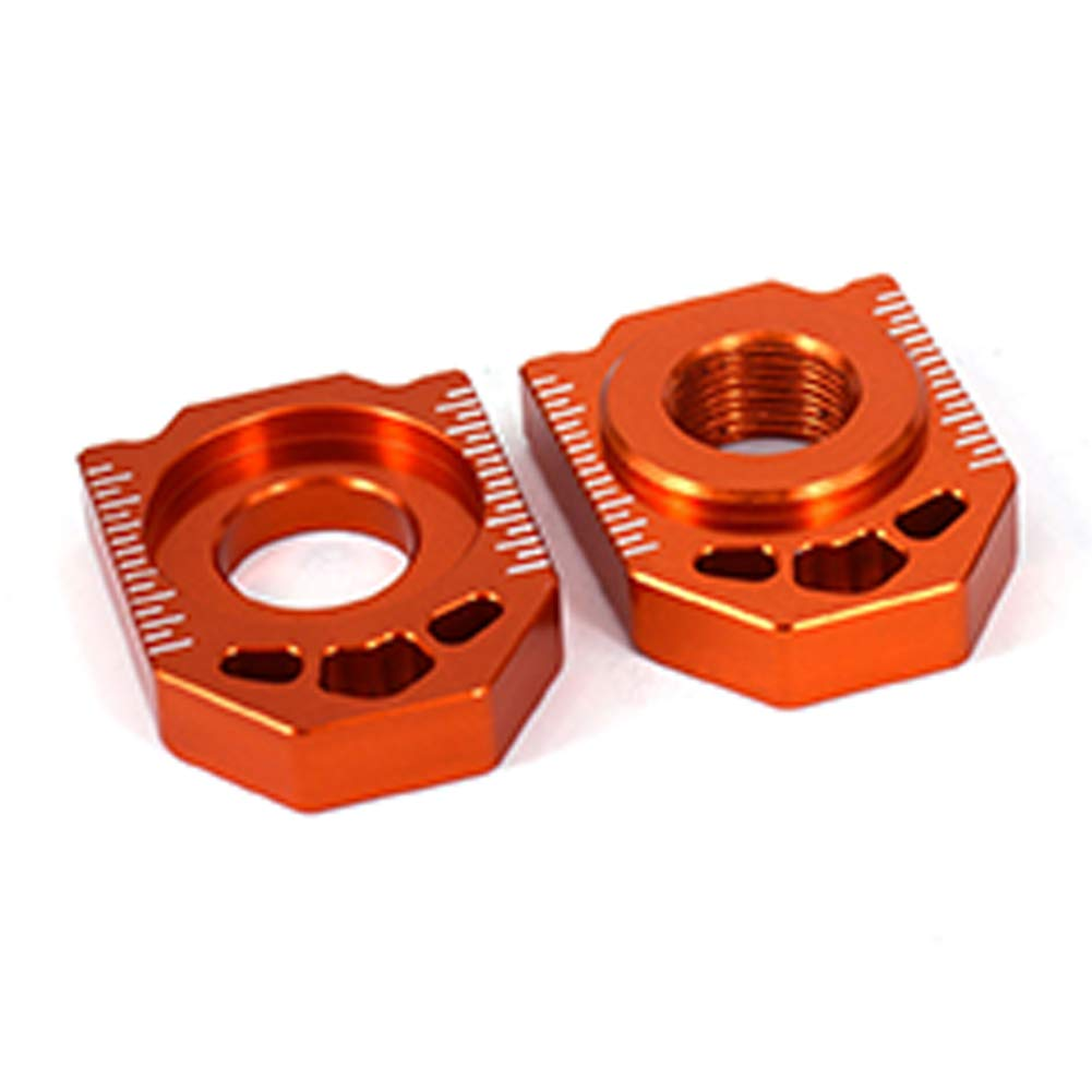 Took09 Motorcycle CNC Rear Wheel Hub Adjuster Axle Block for KTM85SX/125-450SX/SX-F/XC/XC-F by Took09