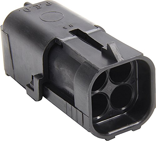 Allstar Performance ALL76297 4 Pin Weather Pack Square Shroud Housing (Housing Weather)