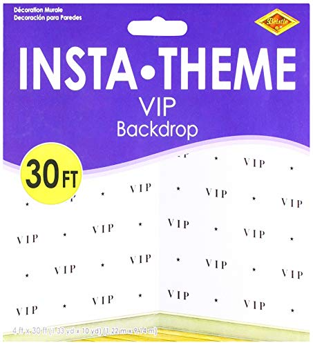 VIP Backdrop Party Accessory (1 count) (1/Pkg)]()