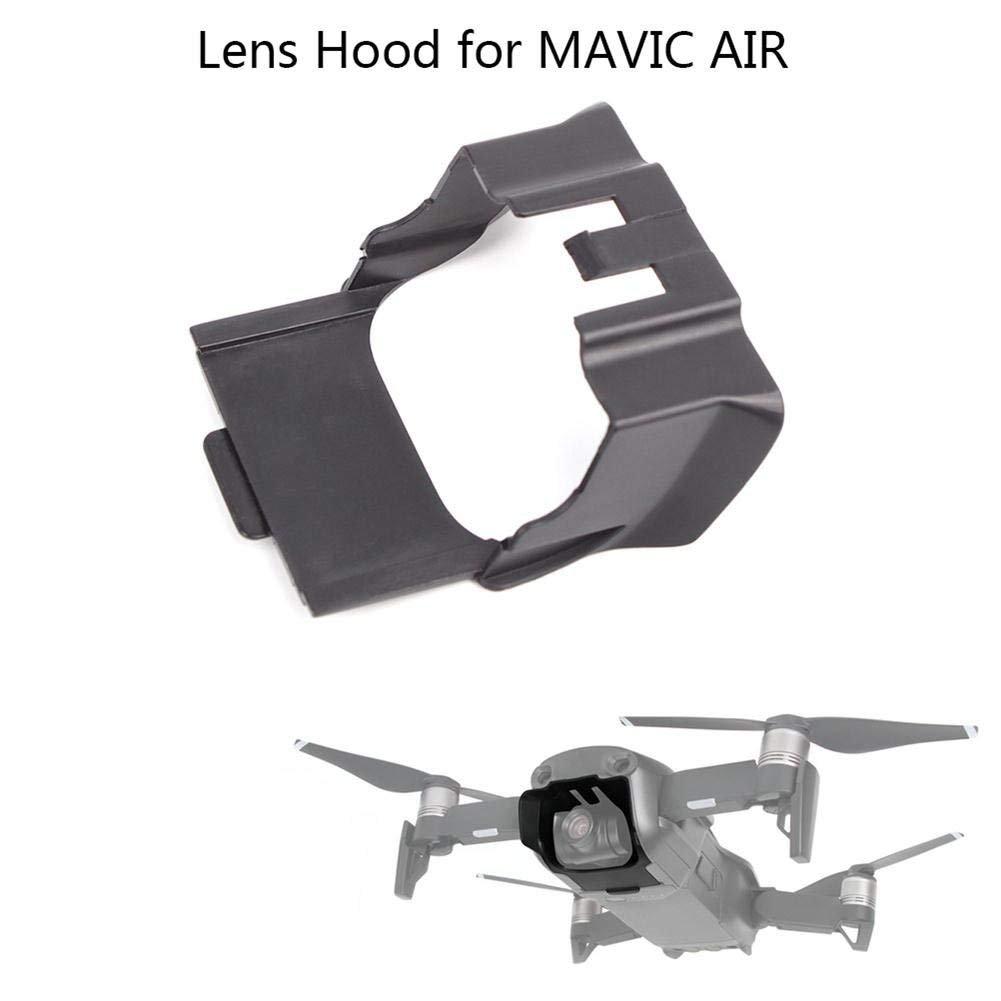 yifantレンズ保護カバーアンチグレアキャップサンシェードレンズフードジンバルカメラカバーDJI Mavic Air Droneアクセサリー   B07F8V6165