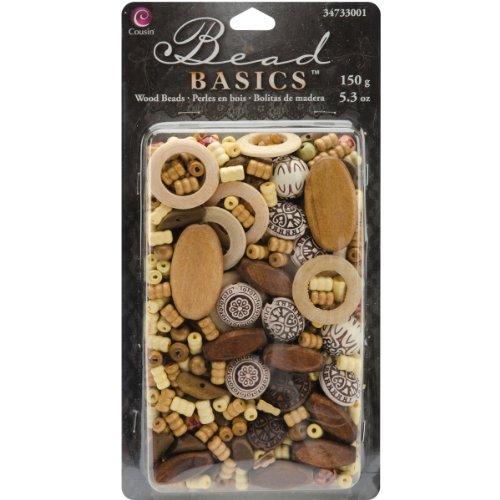 Mix Wood (Cousin Jewelry Basics 150G/5.3-Ounce Wood, Mix 1)