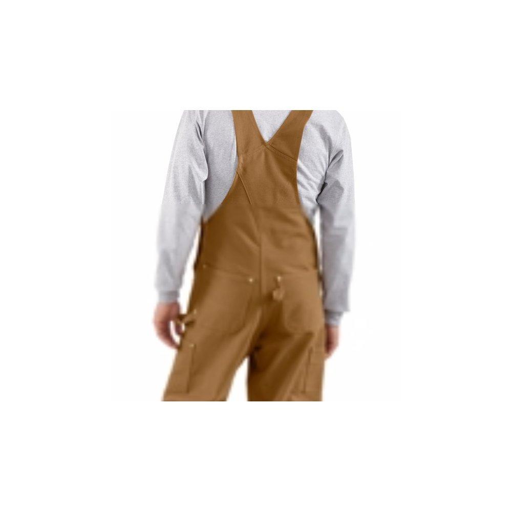 schwarz R01BLK Gr/ö/ße 44 // 28 Arbeitshose Carhartt Workwear Latzhose Duck Bib Overall