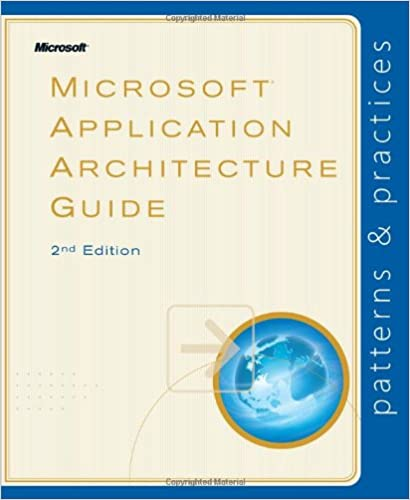 Merveilleux Microsoft® Application Architecture Guide, 2nd Edition (Patterns U0026  Practices) 2nd Edition