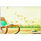 Syga Wall Sticker (PVC Vinyl, 50 cm x 5 cm x 5 cm, AY7211)