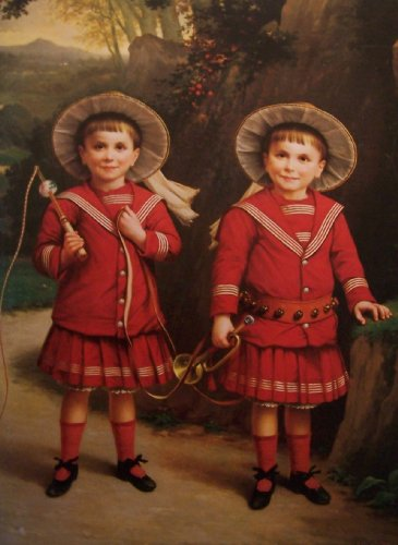 Kurt E. Schon, Ltd ~ Fine Paintings (Cover featuring The Twin Boys ~ Paul Narcisse Salieres (FL. 1848-1870) French School)