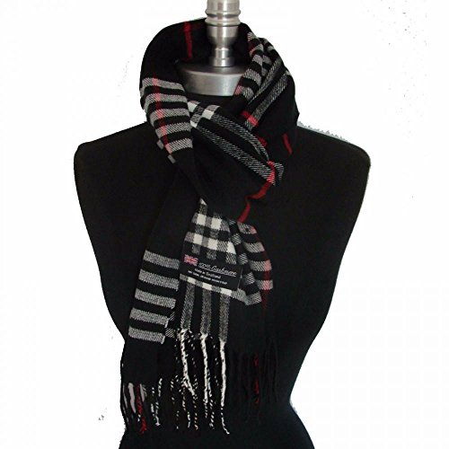 black-us-sellerunisex-72x12-scarf-scotland-warm-b92