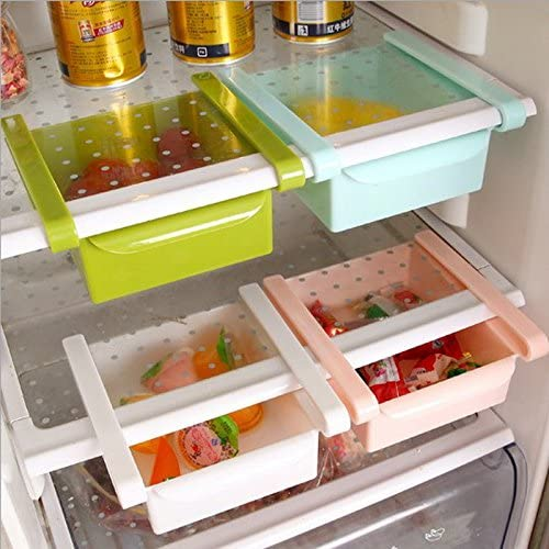 Caso Slide de almacenamiento frigorífico congelador cajas Pantry ...