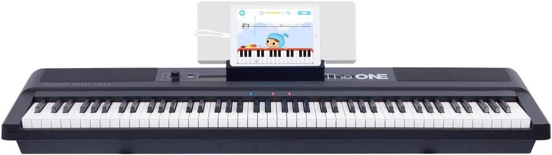 The ONE Music Group piano electrónico portátil de 88 teclas ...