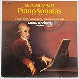 W. A. Mozart: Piano Sonatas (K.282, 330, 333, 570) / Minuet K.355, Adagio K.540, Trauermarsch K.453a / Gustav Leonhardt, Fortepiano
