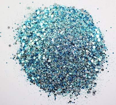 ECO GLITTER FUN - Brillos Eco amigables Frozen Blend - Completamente biodegradable - Perfecto para maquillaje