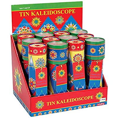 Schylling Classic Tin Kaleidoscope: Toys & Games