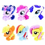 : Mash'Ems Fash'Ems - My Little Pony 4 Pack (4 Blind Capsules Per Order) Squishy Collectible Toy