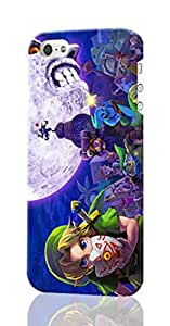 The Legend of Zelda Personalized Diy Custom Unique 3D Rough Hard Case Cover Skin For iPhone 5C , Design By Graceworld