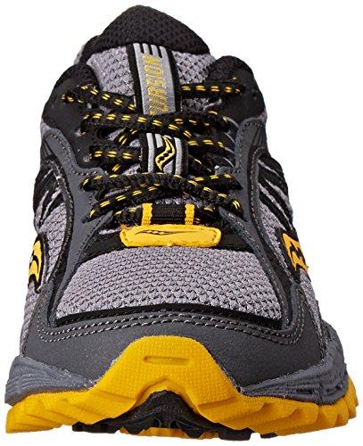 Excursion Black Yellow Grey Big Kid Saucony Kid Sneaker Little dq0x8z