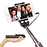 Wired Selfie Stick Extendable Monopod - Luxsure Universal - Best Reviews Guide