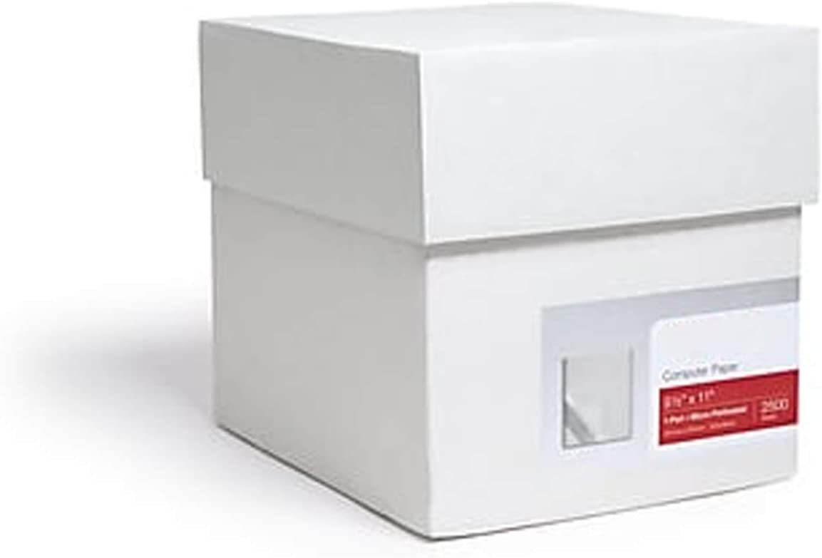 MyOfficeInnovations 177154 9.5 x 11 Continuous Paper 2500//CT 20 lb,92B