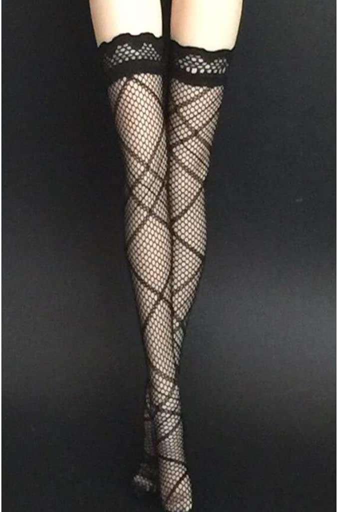 1//6 Doll Lace Stocking Socks for 12inch TTL Enterbay Action Figure Body Red