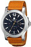 Zodiac ZMX Men's ZO9102 Jet-O-Matic Stainless Steel Watch with Orange Band